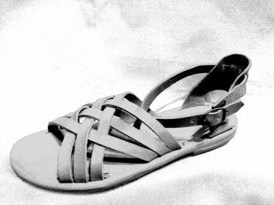 Sandali in pelle donna